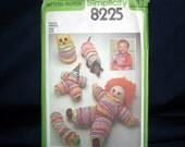 Vintage Simplicity Yoyo Toy Pattern - Clowns, Owl, Wiener Dog and Caterpillar