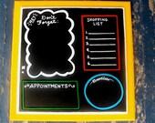 Chalkboard Interactive Family Office Message Board