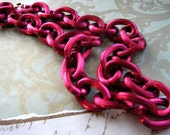 Super Chunky Red Necklace