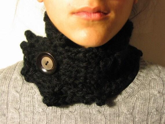 Black Neck Warmer