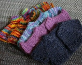 "Set of 5 Handknit Wool Sweaters for 12"" Waldorf Dolls - Custom for Megan"