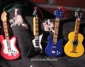 Guitar Resin Ornaments