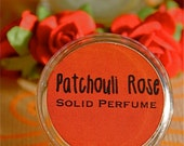 Patchouli Perfume, Patchouli Rose Solid Perfume,