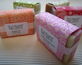 Buy 4 bars of Artisan Shea Butter Soap-Get 1 free. Your choice of scents.