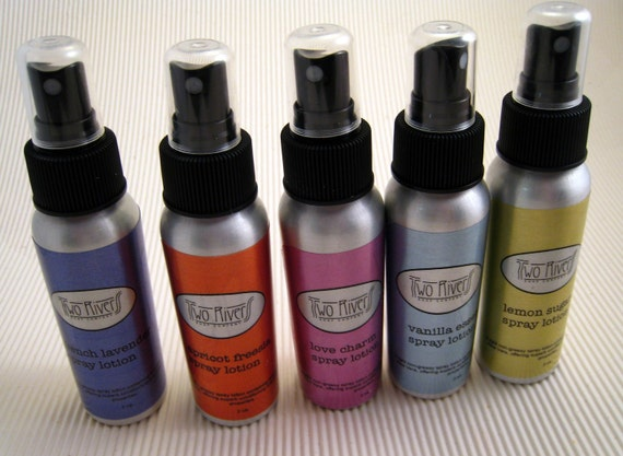 Spray Lotion- Your choice of scents