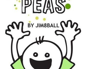 I Love Peas mini comics