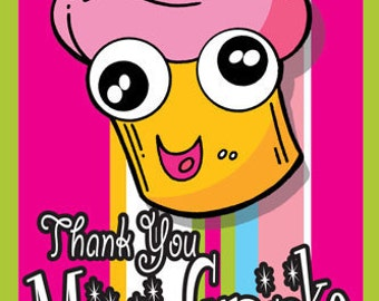 Thank You Magic Cupcake Mini Comic