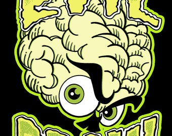 Terror of Evil Brain Mini Comic