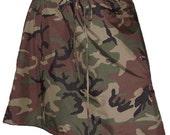 Camo ALine Skirt