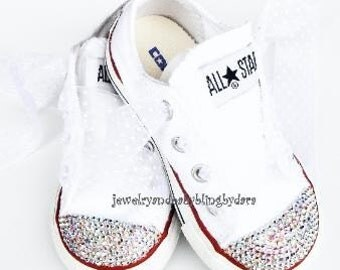 all star converse with diamonds