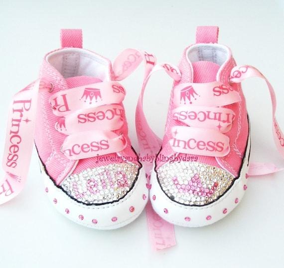 Items similar to Baby Bling Infant Crystal Princess Tiara