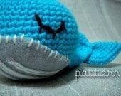 amigurumi pattern 001 - splish splash baby whale