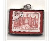 Posta Romana Stamp Pendant