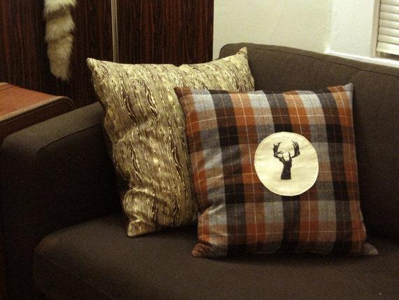 Pendleton Wool Deer Pillow