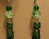 Green Kitties for Megmog