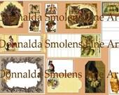 Downloadable Cat Ephemera Sheet