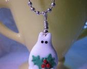 Malcom Christmas Cat Necklace
