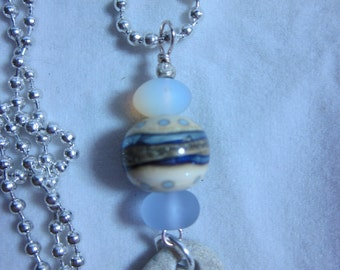 Earth Bound Stone Necklace