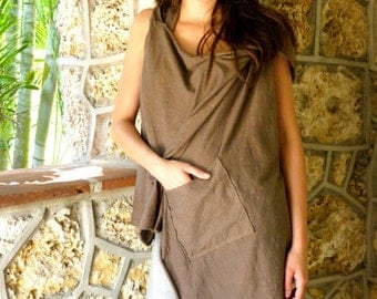 The Object of my Affection Top. Organic Hemp Jersey. Made to order.