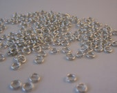 200 Silver Plated 4mm Jump Rings