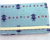 Robot March Card Wallet