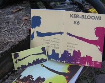 Ker-bloom 86 letterpress zine