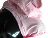 Pink Kitty Shrug Hoodie with Lace