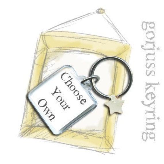 Keychain - Choose Your Own