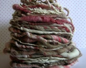 miss brown - handspun yarn