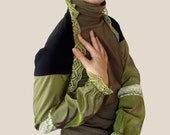 Reseda - Recycled Silk Shrug