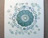 Abstract Mandala, Circle Series Number 17