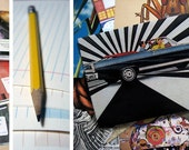 Recycled Envelopes and Stationery Set