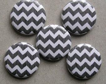 Chevron Button or Magnet Set