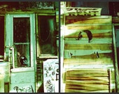 35/Store For Rent, Park Slope, Brooklyn - set of 2 8x12 prints - NYC film photography