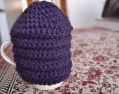 mug cozy - Sherlock Holmes purple wool - tea hive