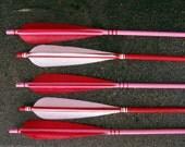 Valentine's Day Decor Arrows Red, Pink and White Love Set - FletcherandFox