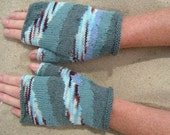 RESERVED FOR KNITWIT - ebb and flow gloves