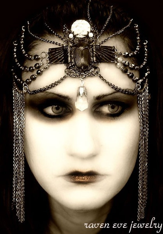 Theda Bara Silent Film Goddess Headdress LAST ONE final sale item