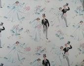 Vintage Bridal Wrapping Paper