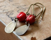 The Red Luster Earrings