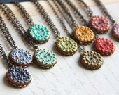 Colorful collection for the Princess Necklace - Choose you color