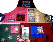 CRAZY COLORFUL CUSTOM APRON