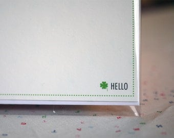 Hello Clover Card Set 3