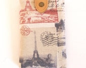 SALE iPhone/mobile phone sleeve - iPhone case - Paris collage