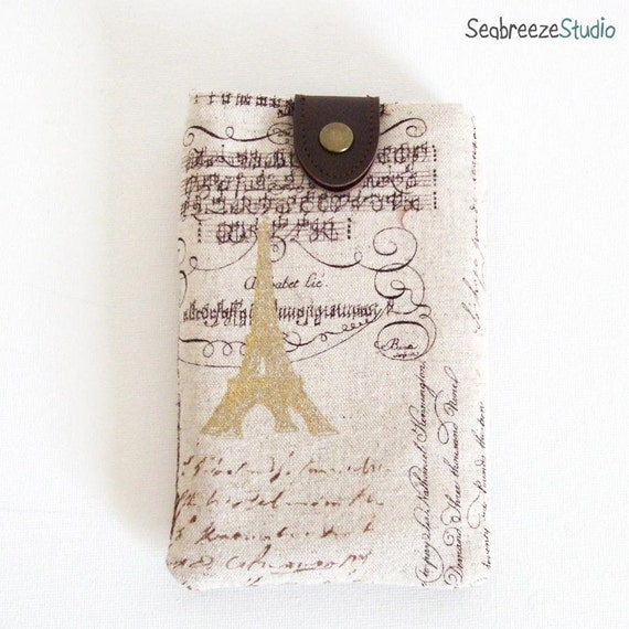 iPhone/mobile phone sleeve - iPhone case - calligraphy