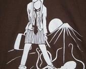 schoolgirl with octopus size adult medium