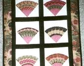 Unique Oriental Fans wall hanging