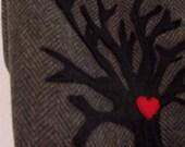 i heart tree handbag