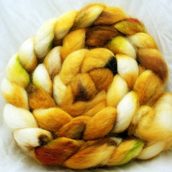 Cabin- BFL Wool Silk Roving - 5.0 oz