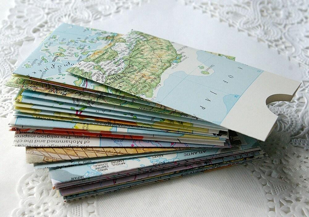 Handmade Envelopes Business Card Envelopes Gift Card